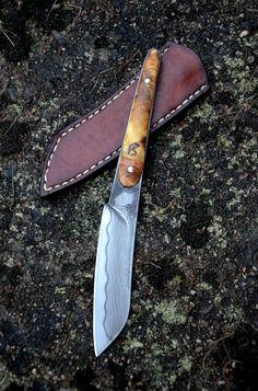 Couteau et étuis par Nicolas Weber http://www.couteaux-weber.com/index.php