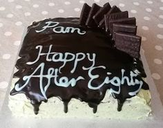 AnnieThing for Food: After Eight-y Birthday Cake - Recipe