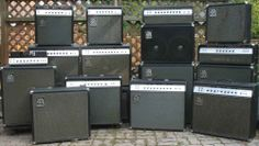 How many Ampeg amps do you have?
