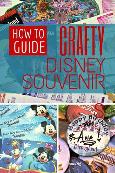 Planning a trip to Disneyland or Walt Disney World? Here are five ideas for low cost, easy-to-make souvenirs that capture all the magical memories of your vacation!