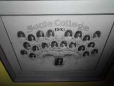 Soule College 1903 - Photo taken at Cannonsburg
