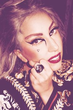 Gaga in her dressing room after the show in Tokyo- Terry Richardson Illuminati, Lady Gaga Daily, The Fame Monster, Lady Gaga Pictures, Terry Richardson, Little Monsters, Celebs, Celebrities, American Singers