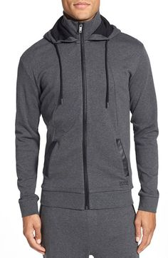 BOSS 'Heritage' Zip Hoodie available at #Nordstrom
