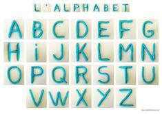 L'alphabet en pâte à modeler - maître francois  J'ai eu dernièrement quelques demandes sur les modèles de lettres en pâte à modeler que j'utilise pour mes fiches « d'écriture » (par exemple sur les mots de la classe, les mots de Noël ou les mots de la galette). Comme je manque de temps pour répondre à tout le monde, bienvenue en CE2-CM1, je vous partage ça ici. Plasticine, Montessori, Scrapbook, Teaching, Lettering, Activities, Writing, Website, School