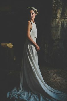 f5d91f689ad0 A Bohemian Wedding At Liverpool Cathedral And Owen House Farm Cheshire With  Bride In Vintage Family Heirloom Gown Redesigned By Agape Bridal Boutique  And A ...