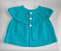 Ravelry: All-In-One Sleeveless Baby Top (6 months) & (9 - 12 months) pattern by marianna mel
