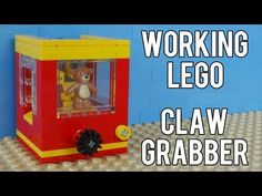 How To Build A Working Lego Claw Grabber Machine - YouTube