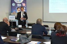 Mauro Ninci, Medical Affairs Director di #Genzyme, durante la sua discussione sull'organizzazione degli Studi Clinici per le malattie rare presso Digital for Academy. #D4Amalattierare #D4A #malattierare