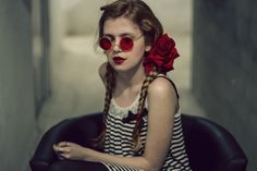 Red glasses by Sol Vazquez Cantero on 500px