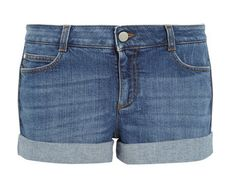 Stylist's Packing Tips: 10 Summer Vacation Essentials | Visual Therapy Stella McCartney Denim Shorts