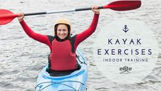 I recently learned of a new type of triathlon that incorporates kayaking in place of the typical swim portion. With this new type of race comes different challenges and varied training. Here a few tips for training for this race and some good kayak exercises in general.