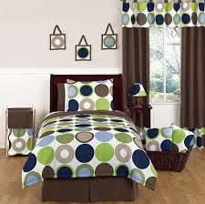The Deco Dot Modern Polka Dot - 3 Piece Full/Queen Bedding Set by Sweet Jojo Designs is perfect for a modern teen or little girl's bedroom. This fun, Teen Bedding Sets, Twin Comforter Sets, Baby Bedding, Toile Bedding, Crib Sets, Baby Crib, Bedspread, Twin Size Bed Sets, Childrens Beds