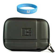 "5 inch GPS Black Carrying Case Magellan RoadMate 5045-LM 5-Inch Widescreen Portable GPS Navigator with Lifetime Maps and Traffic + SumacLife TM Wisdom*Courage Wristband by Bestpriceshop. $11.95. ""This is a durable and sturdy case for 5.2 inch GPS devices. The case is made of molded EVA front which protects your GPS against bumps and dust. Interior mesh pocket holds your accessories and the elastic strap keeps the GPS securely in place, protecting it from accidental s..."