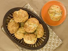 Bacon, Cheddar and Chive biscuits from Kelsey Nixon-Cooking Channel