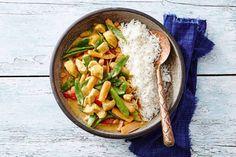 Indiase kip- en groentecurry met basmatirijst - Recept - Allerhande