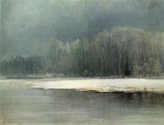 Winter landscape.Aleksey Savrasov