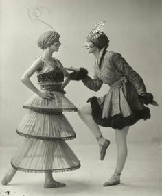 """1914. The Ballet Russe and Poiret revolutionized the look of the latter Belle Epoque, leaving the desire for morely pretty clothing in the weeds, whilst favoriing bright bold color, texture, pattern- imbued with Oriental and Arabic fantasy. The styles were originally considered """" barbaric monstrosities"""" and outlandish lapses of taste- but they caught on and inflamed a passionate desire for gorgeous array."""