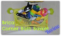 I love this: Bath Toy Storage idea