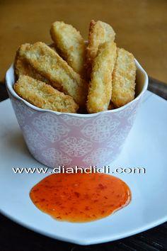 Diah Didi's Kitchen: Nugget Ikan Tenggiri Diah Didi Kitchen, Nuggets Recipe, Asian Kitchen, Ramadan Recipes, Indonesian Food, Asian Cooking, Yummy Cookies, Finger Foods, Cooking Recipes