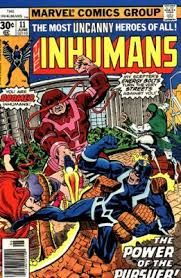 Image result for inhumans comic strip