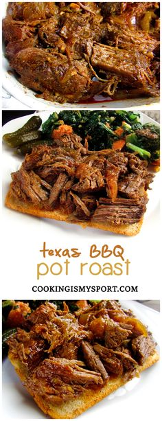 Texas BBQ Pot Roast