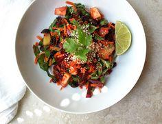 THE SIMPLE VEGANISTA: Detox Salad + Ginger Lime Cardamom Dressing