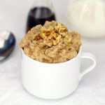 "Banana ""Pancake"" Oatmeal. Stir in some Greek yogurt for a creamy protein boost!"