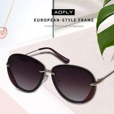 AOFLY BRAND DESIGN 2018 Polarized Sunglasses Women Fashion Retro Vintage Glasses UV400 Shades Gafas de sol A108