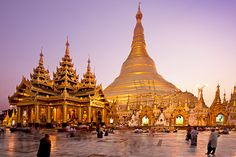 Yangon, Myanmar. Looks like a fascinating place to visit!