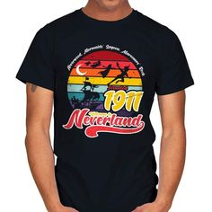 NEVERLAND T-Shirt - Peter Pan T-Shirt at RIPT! $7 off with code: CHOICE!