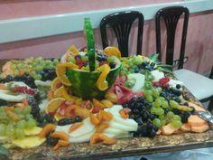 Decorazioni con la frutta per ferragosto