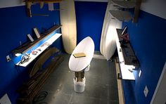 Surfboard shape room: where surfing starts | Photo: Line Up Surfboards