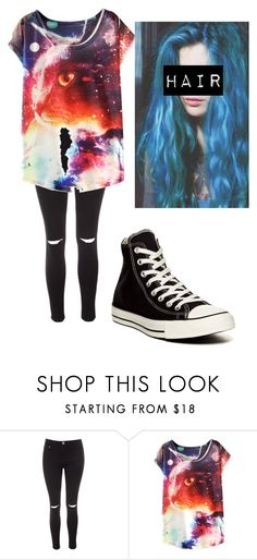 """""""Sewer Sewer cha cha cha"""" by xxghostlygracexx ❤ liked on Polyvore featuring Glamorous and Converse"""