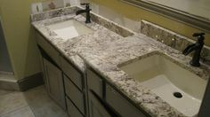 White Springs Granite Bring Beauty and Elegant to Your Home : Incredible White Springs Granite Design For The Bathroom Countertop Design