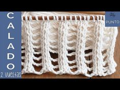 In this tutorial, you'll learn a beautiful knitting stitch: Double Lace Rib, in only two rows and three steps! Great for knitting light garments for the warm. Rib Stitch Knitting, Lace Knitting Stitches, Lace Knitting Patterns, Knitting Blogs, Easy Knitting, Knitting For Beginners, Knitting Needles, Knitting Projects, Stitch Patterns