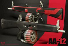AA12 Automatic shotgun. If I found this on the road, I would totally take this as my main weapon.