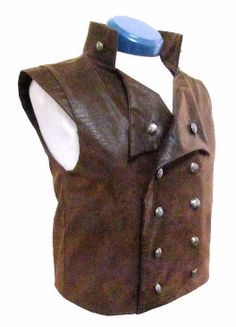 Steampunk Vest  Steampunk Clothing  Waistcoat  by Vestshop on Etsy, $75.00