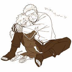 Boruto and Naruto, I wanna see this happening