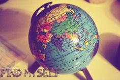Find yourself in travel