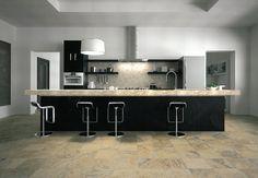 Floor tile for the kitchen...