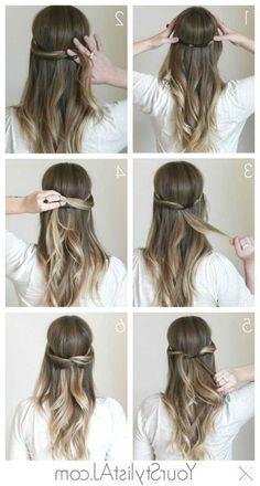 festliche frisuren lange haare selber machen - http://www.promifrisuren.com/frisuren-2015/festliche-frisuren-lange-haare-selber-machen/