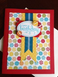 Handmade Birthday Card by imogene