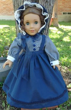 """18"""" Historical Doll Clothes Civil War Era Outfit Fits American Girl Marie Grace, Cecile, Addy"""