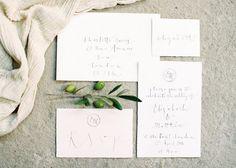 Wedding Stationery | Gemma Milly | #FineArtCuration | Wedding Sparrow