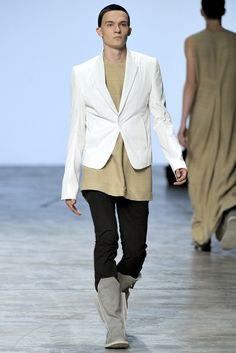 Rick Owens | Spring 2012 Menswear Collection | Style.com