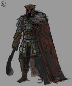 Danga Clan Night Warrior by on DeviantArt Dungeons And Dragons Characters, Dnd Characters, Fantasy Characters, Fantasy Armor, Medieval Fantasy, Dark Fantasy, Fantasy Inspiration, Character Design Inspiration, Armor Concept