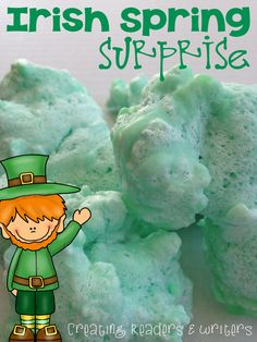 St. Patrick's Day Science:  Five magical investigations that are engaging, hands-on, and so much fun!  (Andrea Knight at Creating Readers & Writers)