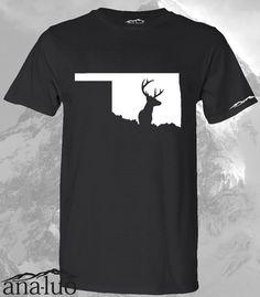 6c3ccbd34454 Oklahoma Hunter Shirt ALL STATES AVAILABLE!!