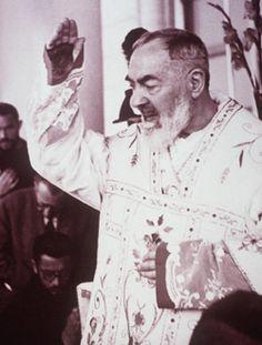 Saint Padre Pio, Capuchin Franciscan mystic and Stigmatic, pray for us.  September 23.