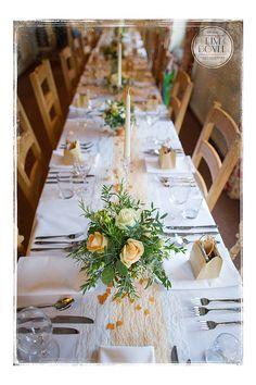 Table decorations - Cley Windmill North Norfolk Weddings - Norfolk Wedding Photographer - Tim Doyle Photography
